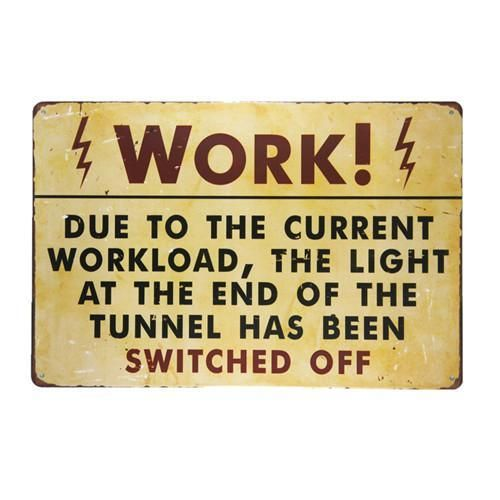 NOTICE THIS DEPARTMENT FUNNY  METAL SIGN RETRO VINTAGE STYLE SMALL tin man cave