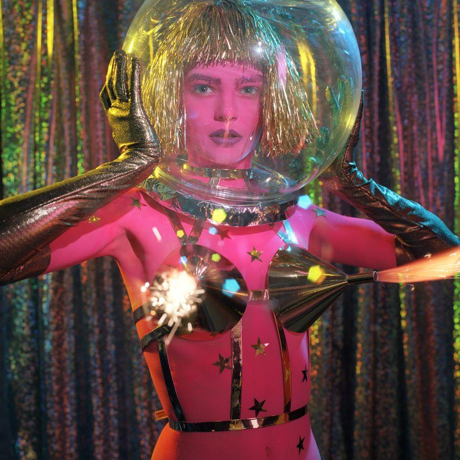 icecream headache  space fashion fashion space girl