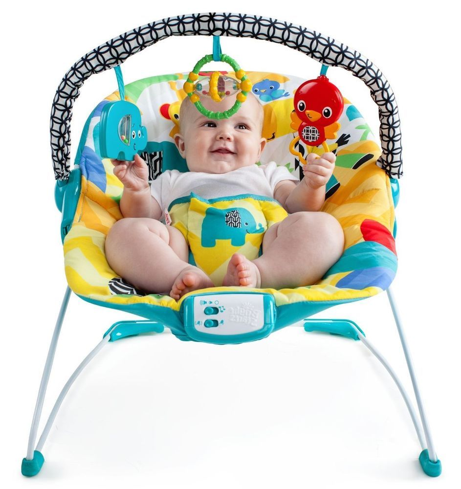 Baby play chairs - Baby Bouncer Seat Vibrating Infant Rocker Chair Comfort Sound Play Newborn Toys