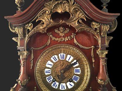 Zegar ścienny Lenzkirch Ok 1894 Rok Oryginał Zegary