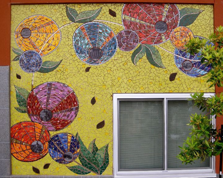 GenerationsMural_01.jpg | Mosaic Outdoor Designs | Pinterest ...