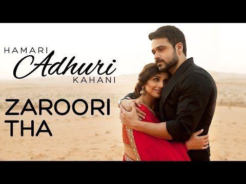 Teri Ankhon Ke Dariya Ka Utarna Bhi Zaroori Tha Hamari Adhuri Kahaani In 2020 Saddest Songs Songs Love Songs