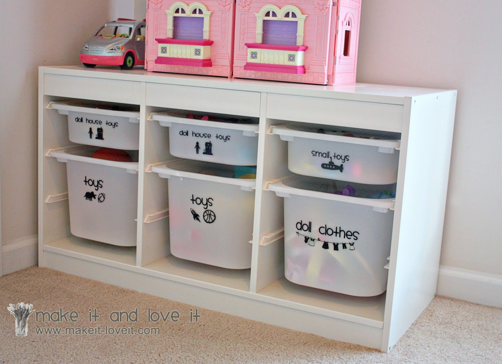 Mobili Portagiochi Per Bambini : Decorate my home part 22 toy bin labeling baby&kids pinterest