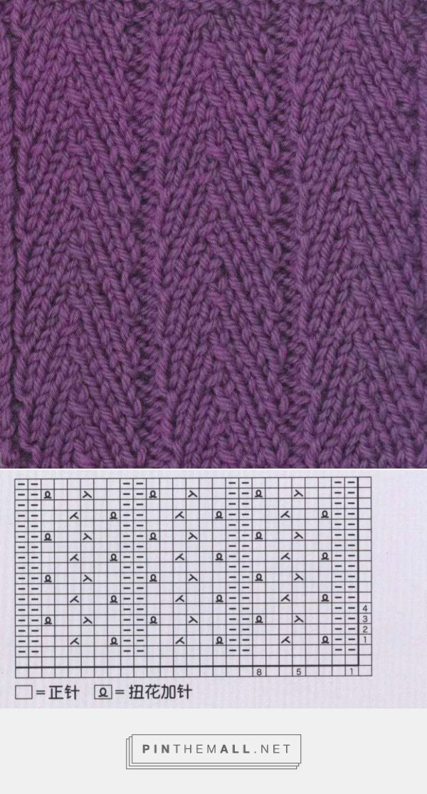 Rich More knitting stitch herringbone - Knitting Kingdom - created ...