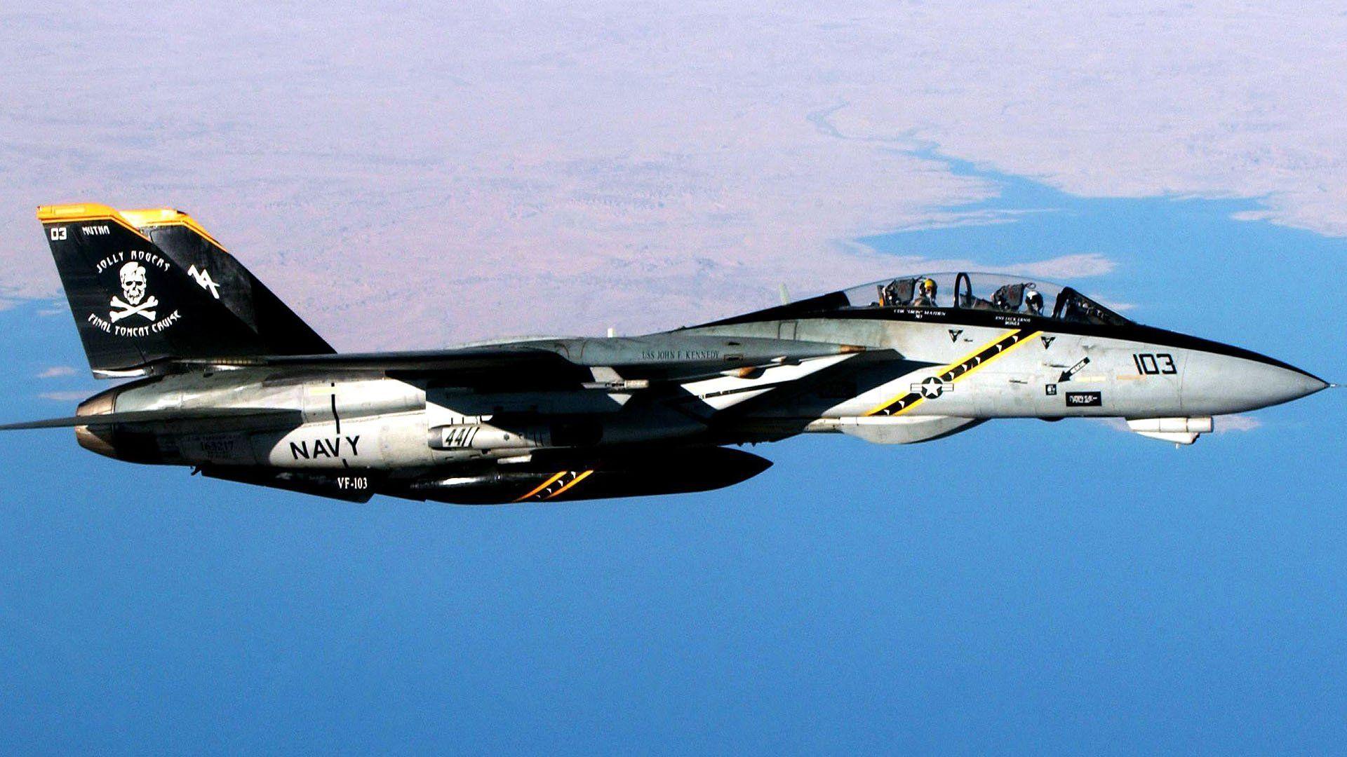 F 14 Tomcat Jolly Rogers Wallpaper Walldevil Best Free Hd