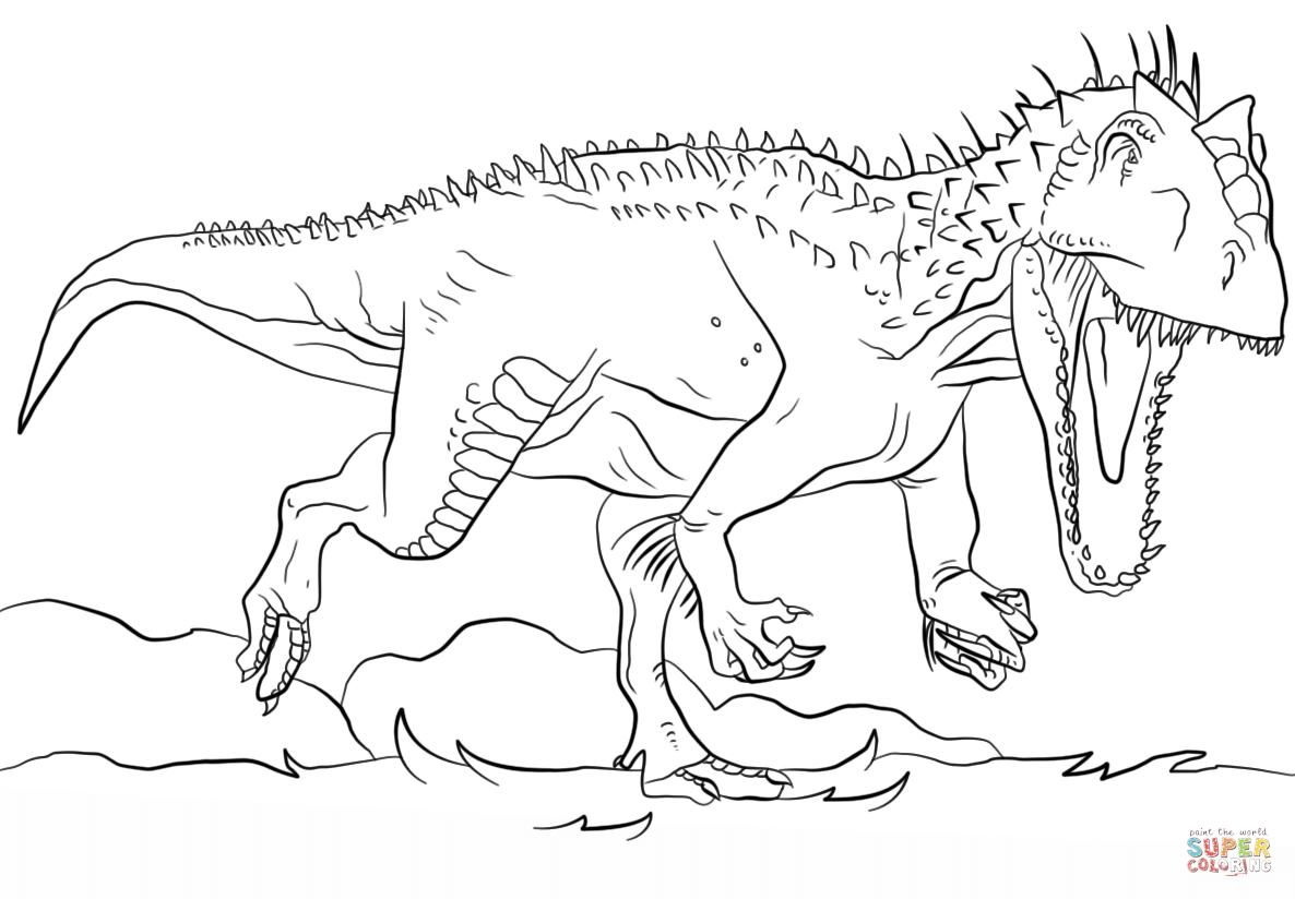 Fine Coloring Page Of Indominus Rex that you must know ...