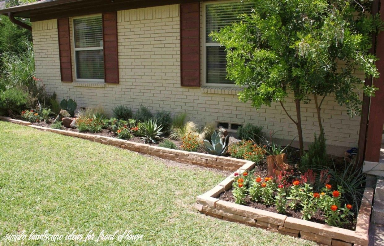 Photo of Simple Landscape Ideas For Front Of House – Flower Beds 2020 Flower Beds 2020 – Blumenbeete Ideen 2020