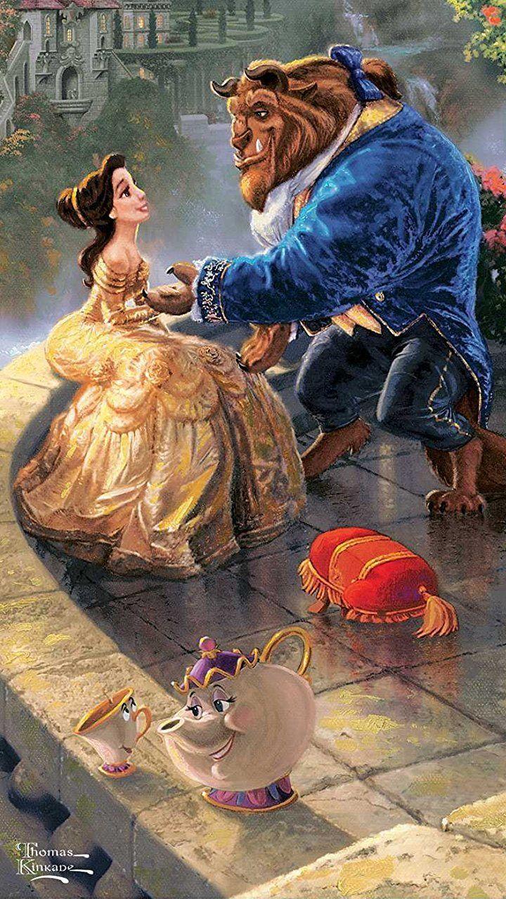 ディズニー 美女と野獣 Hd 720 1280 壁紙 画像40557 スマポ 美女と