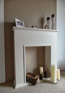 fake kamin selbstgebaut deco pinterest paletten. Black Bedroom Furniture Sets. Home Design Ideas
