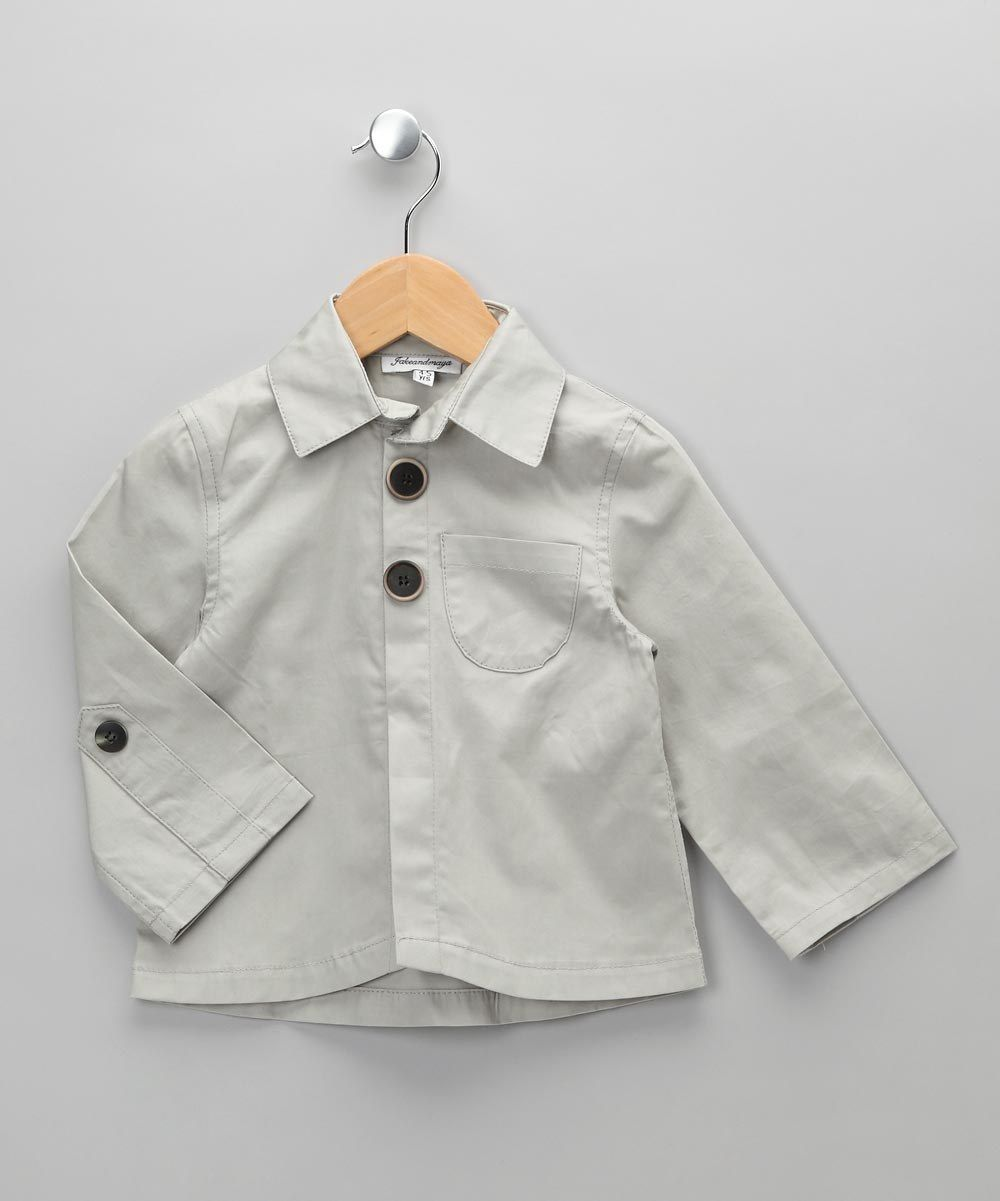 Made in the UK Boutique   Jake & Maya Grey Jacket - Toddler & Girls
