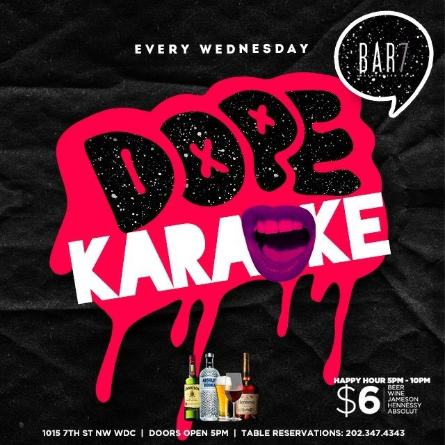 Say yes to dope karaoke tonight bar 7 7 pm at bar 7 cbs dcs say yes to dope karaoke tonight bar 7 7 pm at bar 7 cbs urtaz Image collections