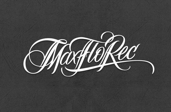 Thaber logo by arabic letters lovely typography
