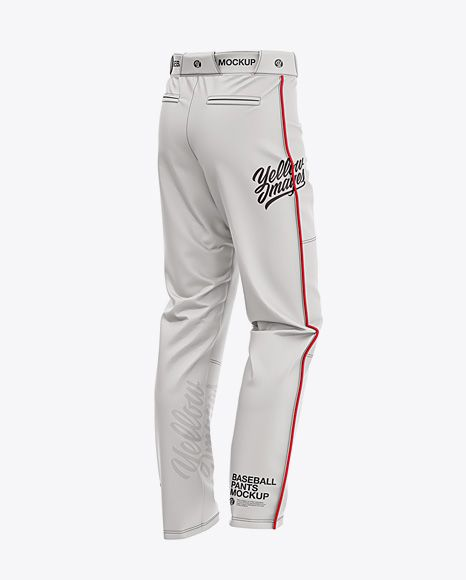 Download Fit Piped Baseball Pants Back Half Side View In Apparel Mockups On Yellow Images Object Mockups Baseball Pants Clothing Mockup Shirt Mockup