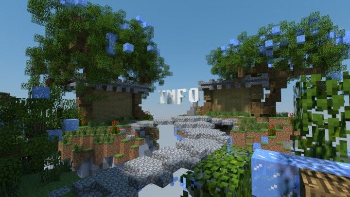 Ecb Network Skyblock Spawn Minecraft Map