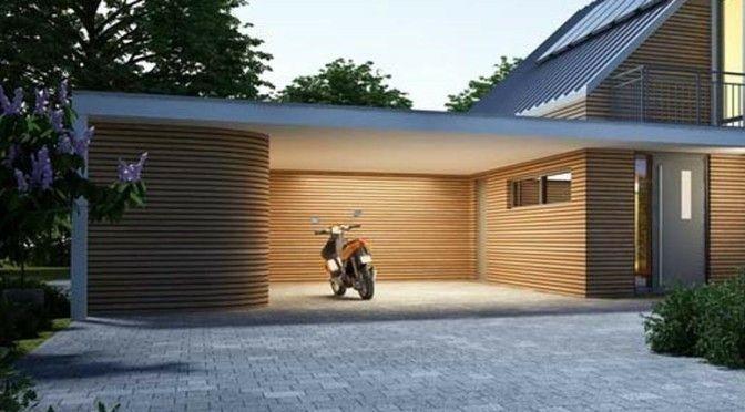 Pin Von Floressence Soins Esthetiques Auf Allee In 2020 Carport Modern Dachformen Aussergewohnliche Beleuchtung