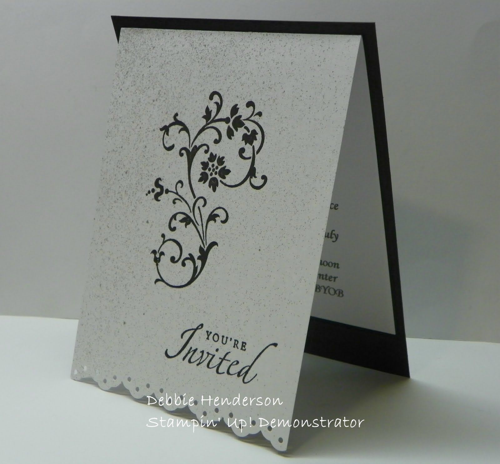 sister marriage invitation letter format%0A stampin up wedding invitations   Wedding Cards for my Niece