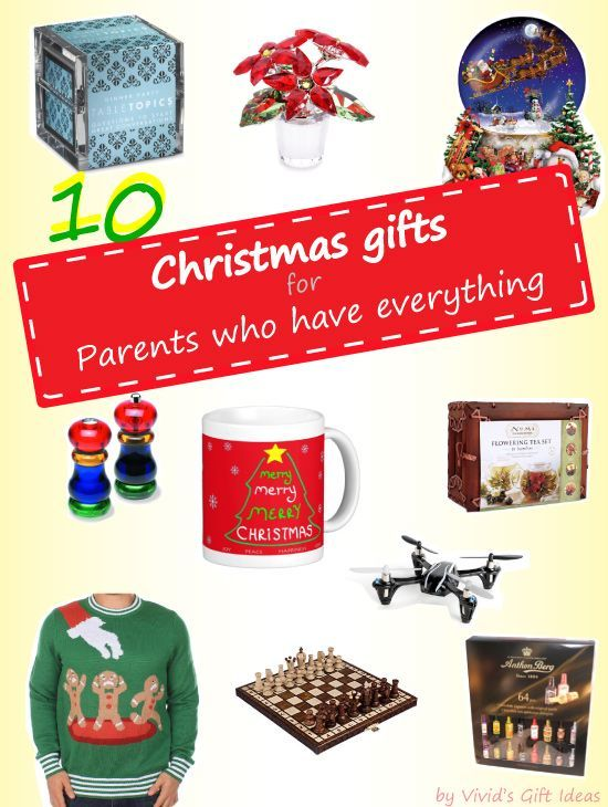 Christmas Gift Ideas For Parents Who Have Everything ...