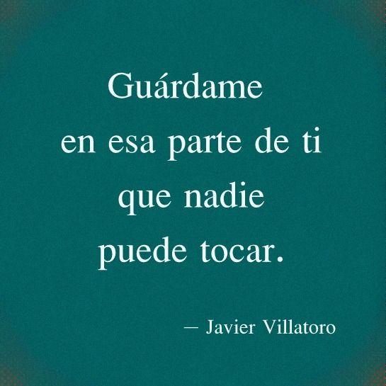 Mi nombre es Javier Villatoro, escribo por gula y huída más que por afán de ser leído, pero no niego que me encanta que te encante, ven a mi mundo, el tour es de la mano de este vagabundo.