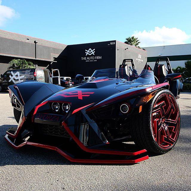 Polaris Slingshot Custom Wheels On Instagram Polaris Slingshot Slingshot Car Custom Wheels