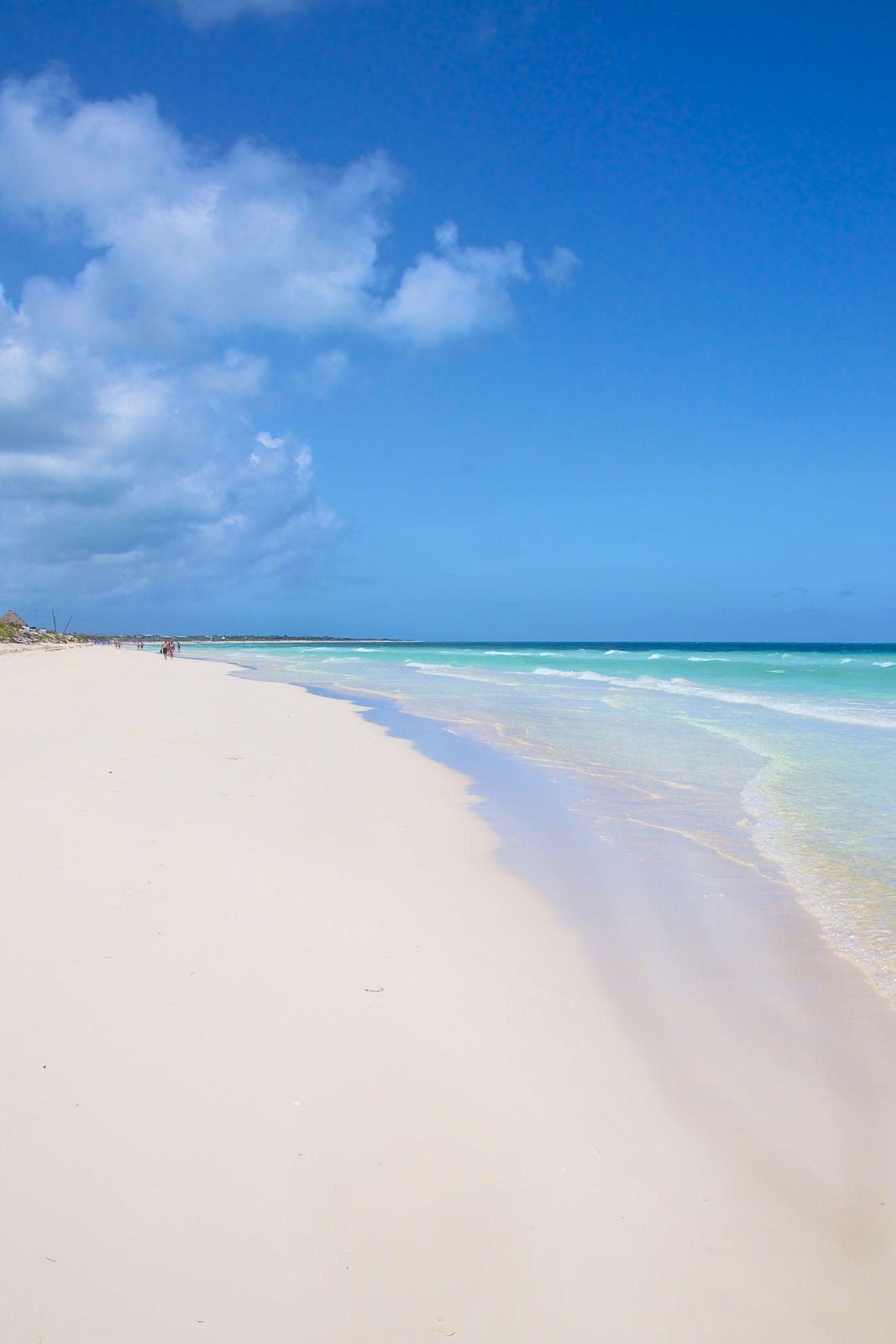 Cayo Santa Maria Beach In Cuba Avec