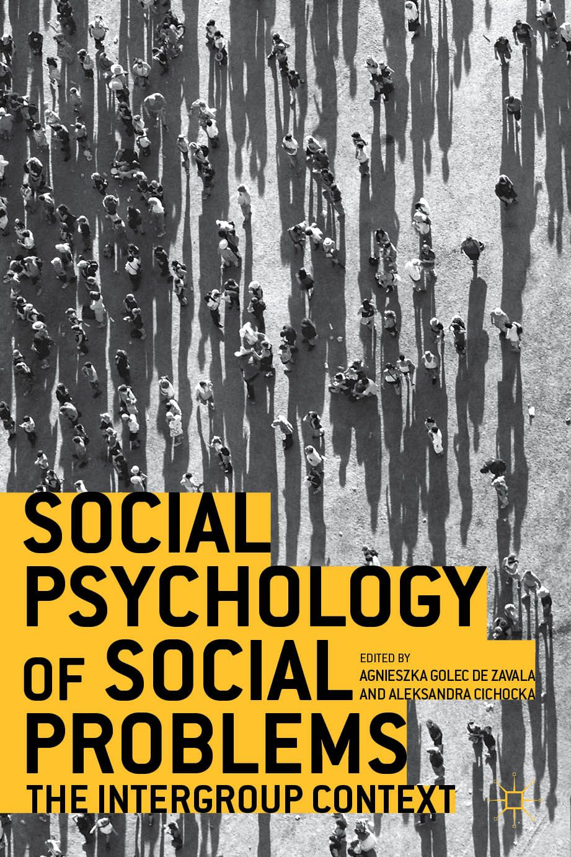 Social Psychology Of Social Problems Book Cover C Palgrave Macmillan Social Problem Psychology Psychology Books