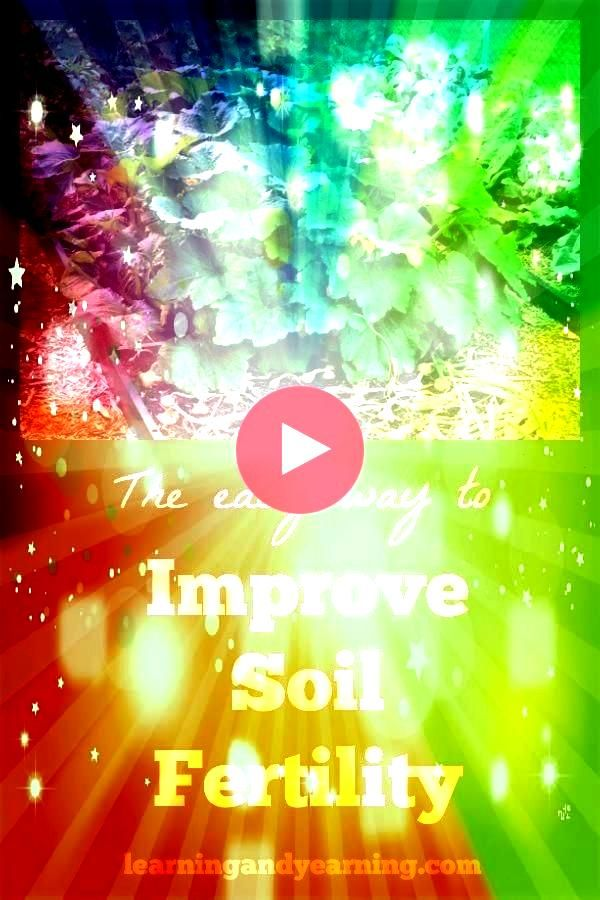 my students to improve soil fertility because healthy fertile soil will result in a healthy nutrientdense harvestI always encourage my students to improve soil fertility...
