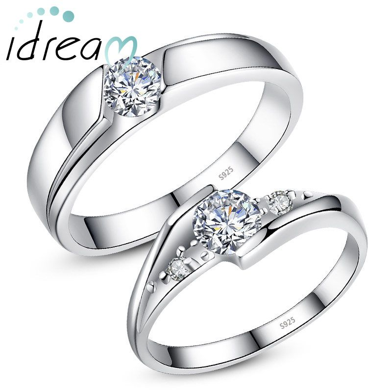 Wedding Ring 925 Sterling Silver Sterling Silver Cubic Zirconia Ring Promise Ring Women Ring Engagement Ring