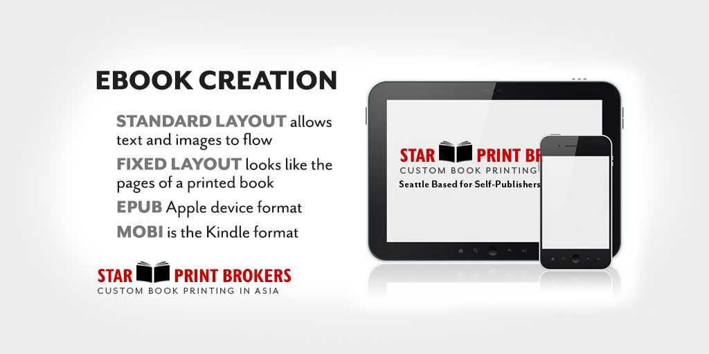 Ebook conversion services for authors custom book