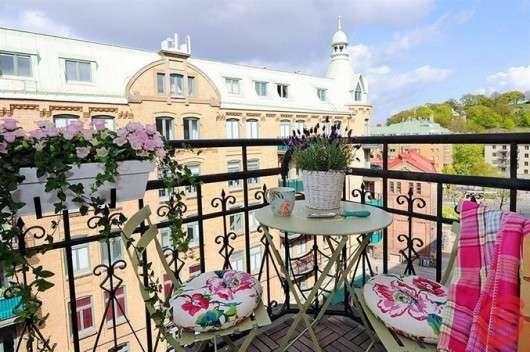 Arredare Un Terrazzo Da Sogno Ma Economico Foto 32 39 Design Mag Nel 2020 Balconi Piccoli Decorazione Da Balcone Terrazza Giardino