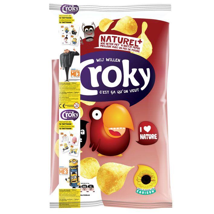 Croky Chips naturel 200 g online bestellen | AH.nl
