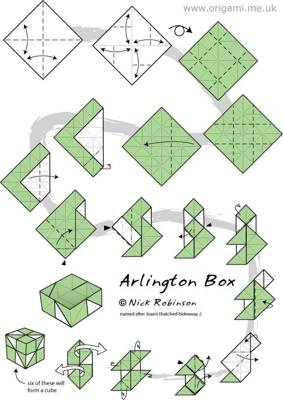 origami module instructions google search paper crafts rh pinterest com origami box diagrams pdf origami box instructions printable