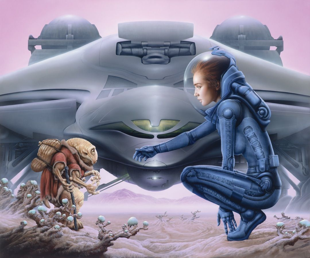 Sci Fi, Sci Fi Art And