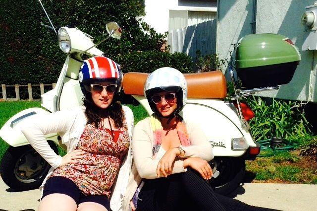 Becca from #RealLoveStella takes her sister for a ride on #StellaAuto.