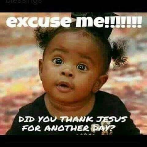 thank you lord jesus meme