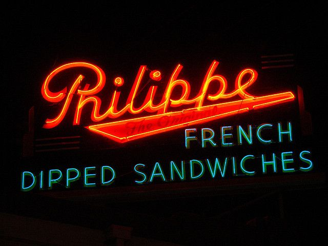 Los Angeles, Philippe French Dipped Sandwiches