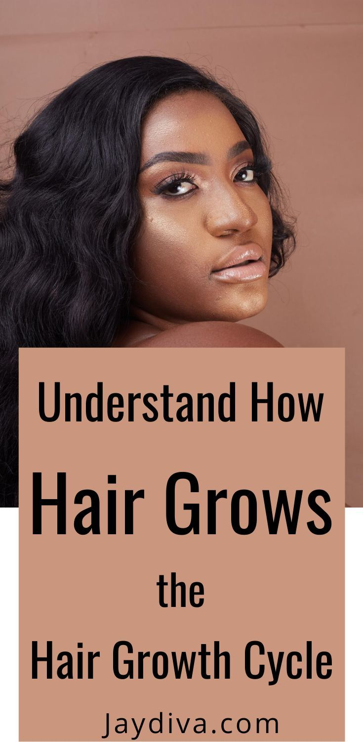 How Fast Does Hair Grow? The Hair Growth Cycle - Jaydiva - Jaydiva