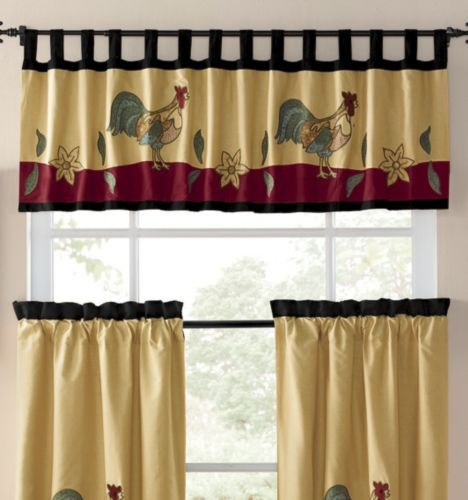 Window Treatments, Rooster