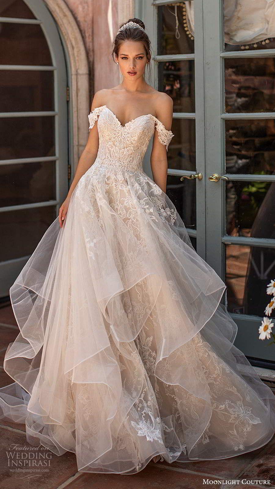 Moonlight Couture Spring 2020 Wedding Dresses | Wedding Inspirasi