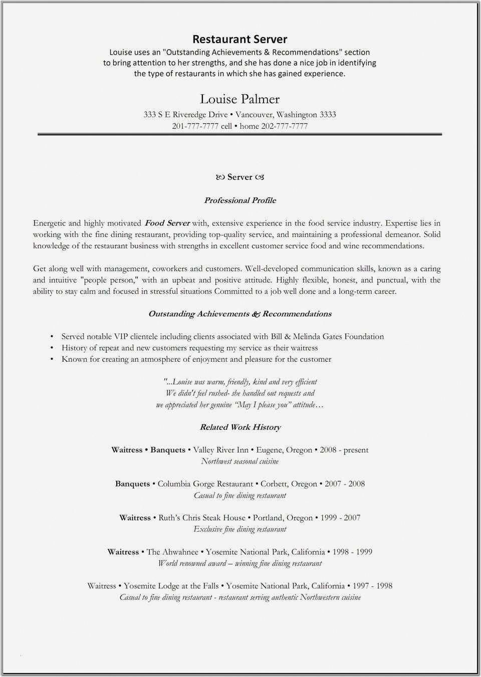 Attractive Cover Letters For Resume Examples