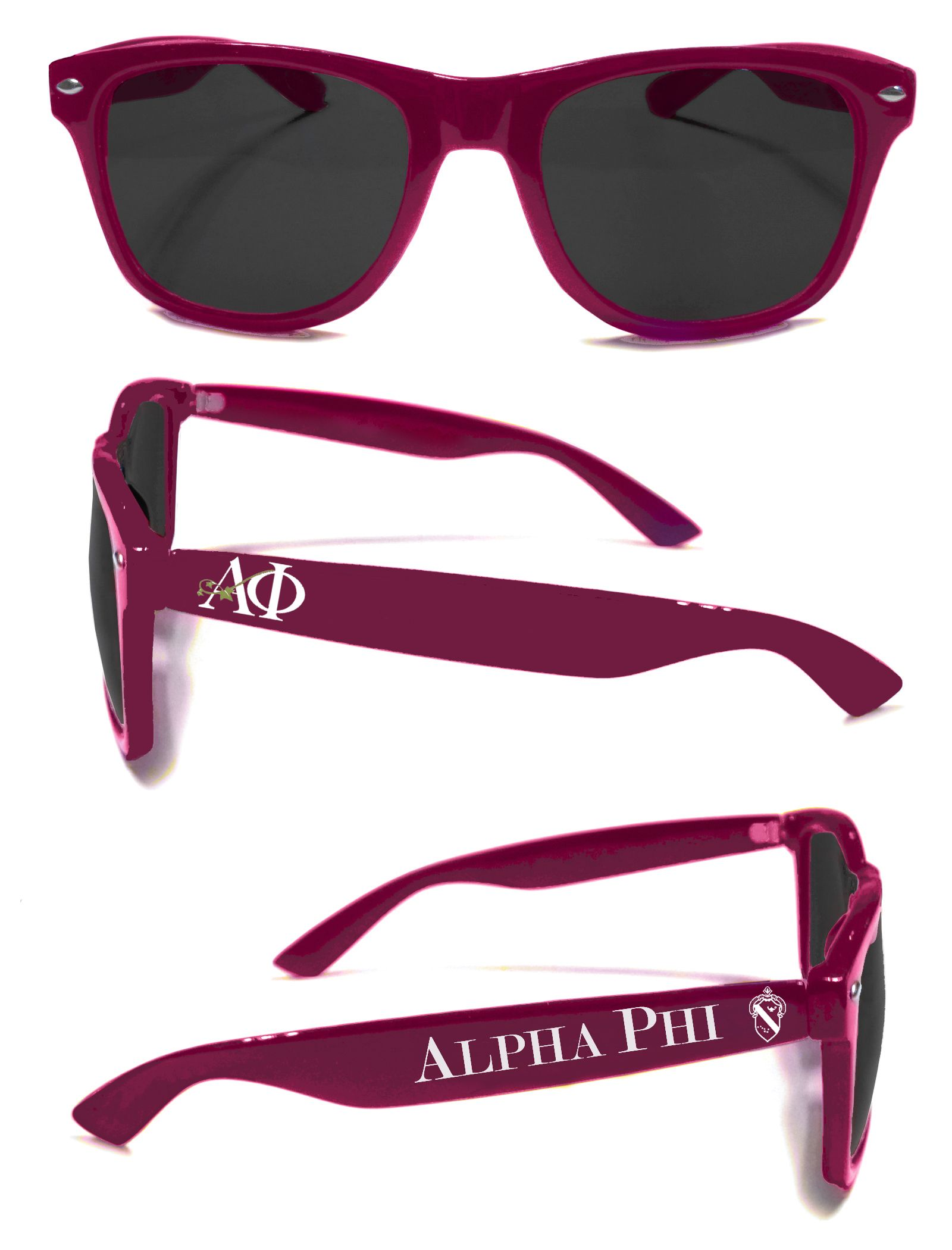 Silver and Bordeaux for the Ladies of Alpha Phi! Order yours now ...