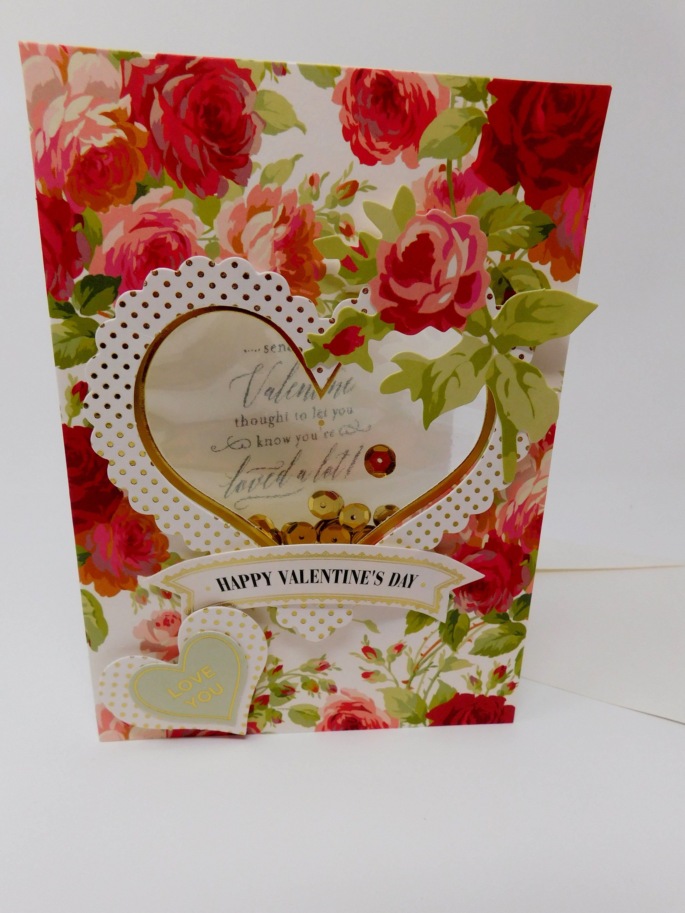 Handmade Valentine Greeting Card Happy Valentines Day Love You You