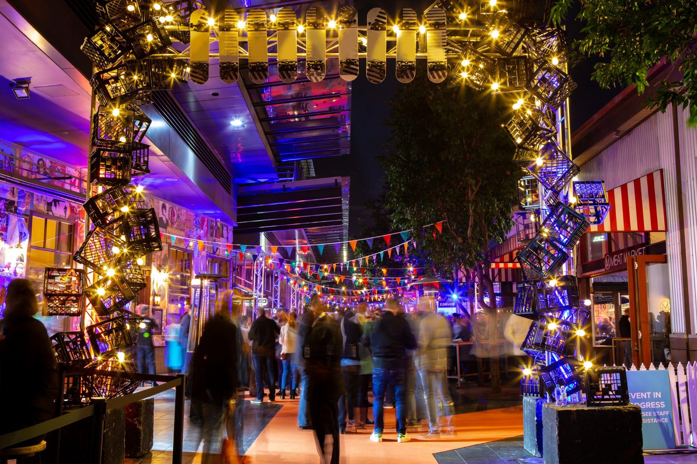 South Wharf Promenade Event specialist, Social events