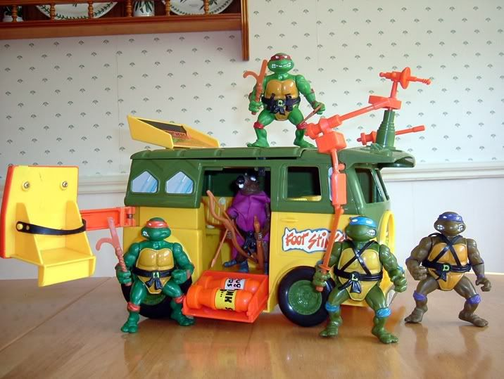 2d66277861530 My TMNT Van | Childhood/TEEN Memories | Retro toys, Power rangers ...