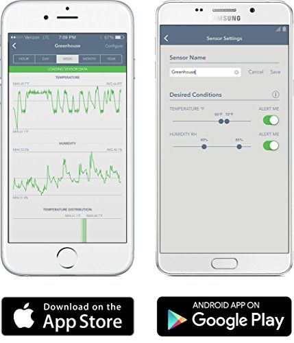 SensorPush Wireless Thermometer/Hygrometer for iPhone