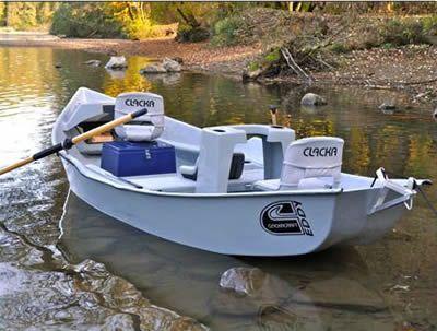 Clackacraft eddy drift boat want bug slinging for Drift boat fishing