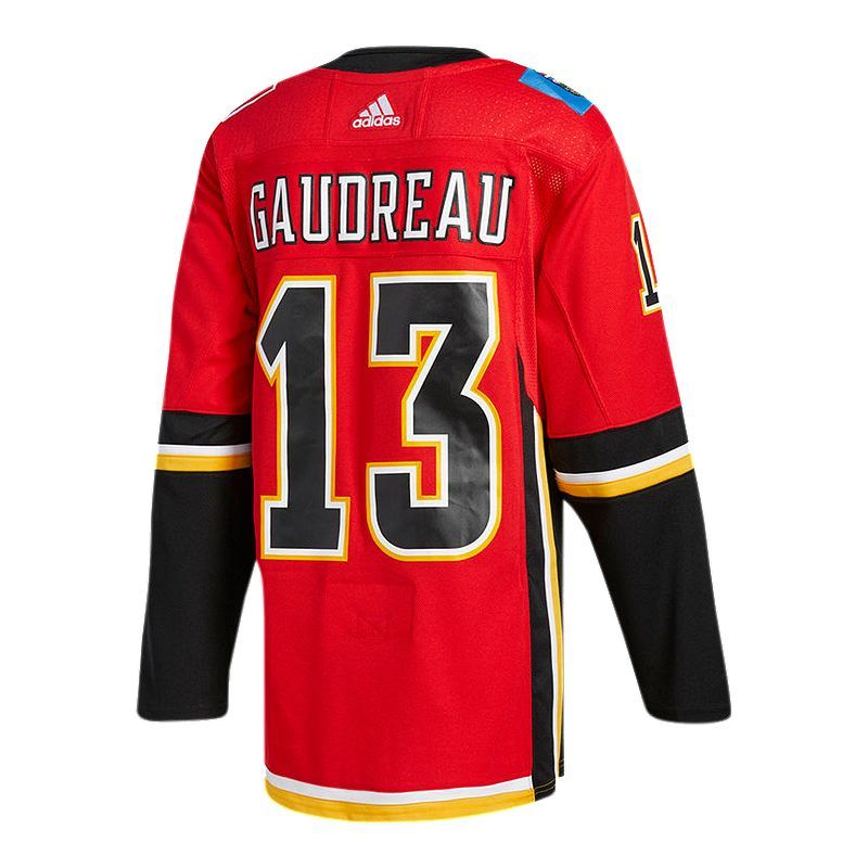 newest b5cb5 53a94 Calgary Flames adidas Johnny Gaudreau Authentic Jersey in ...