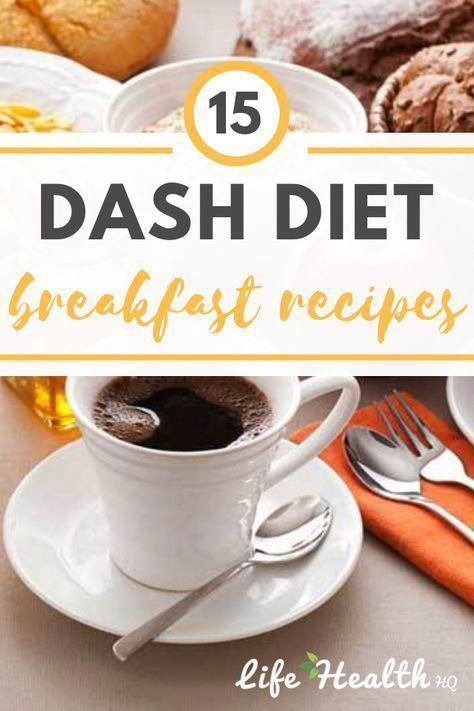 DASH Diet Breakfast Recipes Delicious and healthy AM eats for DASH dieters