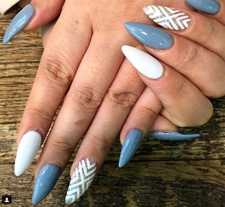 Top 35 Acrylic Nail Art Ideas On Instagram (With images ...