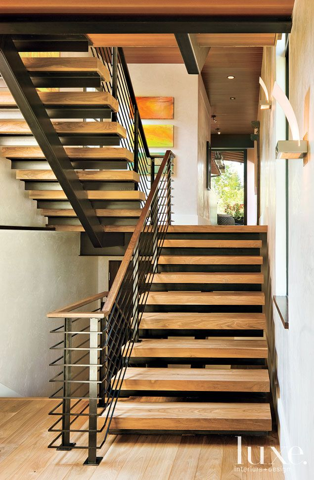 Best Like This Stairs To 2Nd Floor From Entrance Escalier Bois Escaliers Modernes Escalier 400 x 300