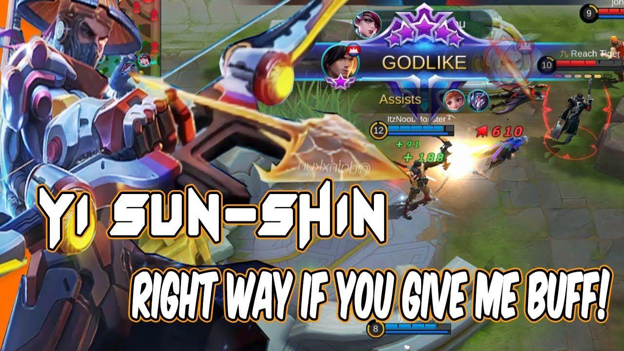 Yi Sun Shin Top Op Marksman 2 Buffs Marksman Damage Mobile Legends Di 2020 Youtube